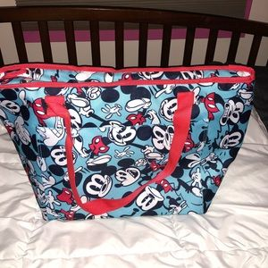 NWT Disney Store large insulated zip cooler.